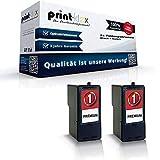 Kompatibles Doppelpack Patronen Lexmark Nr. 1 + 1 18CX781E NO1HC X2470 X2480DSG X3400 Series X3450 X3470 Z735 Doppelpack - 2 Patronen