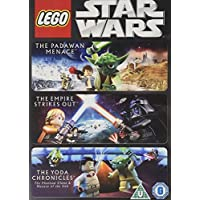 Star Wars Lego - Padawan Menace/The Empire Strikes out/The Yoda Chronicles