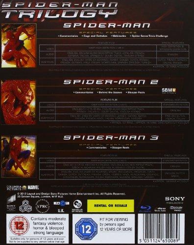 Image of Spider-Man Trilogy [Blu-ray] [Region Free]
