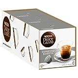 Nescafé Dolce Gusto Espresso Barista, Fuerte, Paquete de 3, 3 x 16 Cápsulas