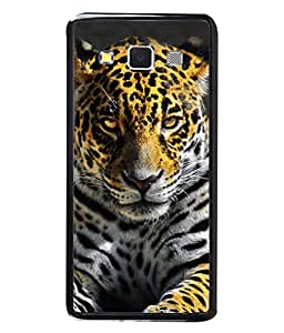 PrintVisa Designer Back Case Cover for Samsung Galaxy A5 (2015) :: Samsung Galaxy A5 Duos (2015) :: Samsung Galaxy A5 A500F A500Fu A500M A500Y A500Yz A500F1/A500K/A500S A500Fq A500F/Ds A500G/Ds A500H/Ds A500M/Ds A5000 (Tiger Constantly Staring At His Prey Design)