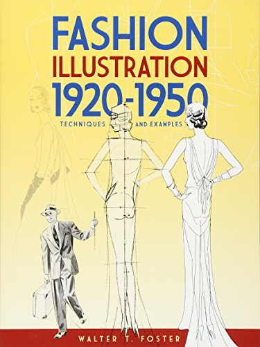 1920 Flapper Mode - Fashion Illustration 1920-1950: Techniques and Examples