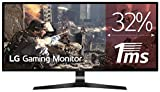 "LG 29UM69G-B - Monitor Gaming UltraWide FHD de 73,7 cm (29"") con panel IPS (2560 x 1080 píxeles, 21:9, 1 ms con MBR, 75Hz, FreeSync, 250 cd/m², 1000:1, sRGB >99%, DP x1, HDMI x1, USB-C x1) negro"