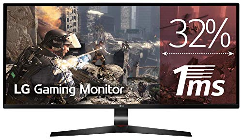 "LG 29UM69G-B - Monitor Gaming UltraWide FHD de 73,66 cm (29"") con Panel IPS (2560 x 1080 píxeles, 21:9, 1 ms con MBR, 75Hz, 250 cd/m², 1000:1, sRGB >99%) Color Negro"