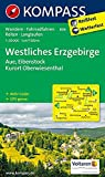 Westliches Erzgebirge, Aue, Eibenstock, Kurort Oberwiesenthal: Wanderkarte mit Aktiv Guide, Radwegen, Reitwegen und Loipen. GPS-genau. 1:50000: Wandelkaart 1:50 000 (KOMPASS-Wanderkarten, Band 806)