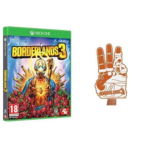 Borderlands 3 - Edición Deluxe, Xbox One + Mano de goma espuma, Disc