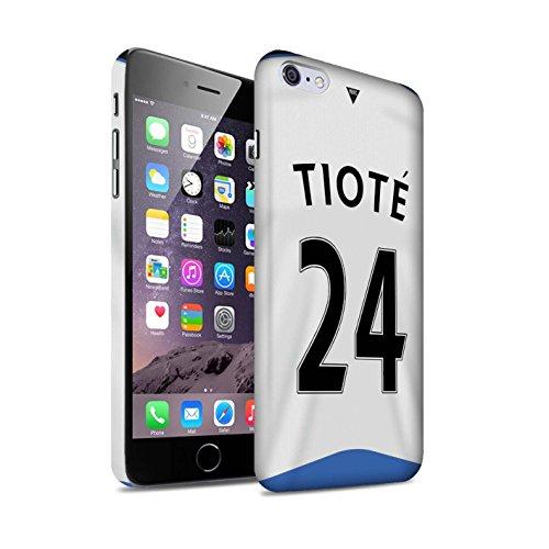 Offiziell Newcastle United FC Hülle / Matte Snap-On Case für Apple iPhone 6S+/Plus / Pack 29pcs Muster / NUFC Trikot Home 15/16 Kollektion Tioté