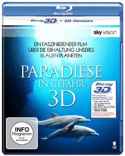 Paradiese in Gefahr (SKY VISION) [3D Blu-ray + 2D Version]