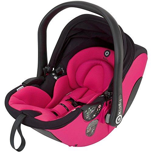Preisvergleich Produktbild Kiddy Babyschale evo-lunafix 052 pink inkl. Isofix Base 2