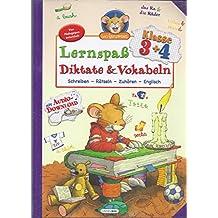 Leo Lausemaus -Lernspass Diktate & Vokabeln Klasse 3+4 Schreiben -Rätseln -Zuhören -Englisch (Leo Lausemaus)