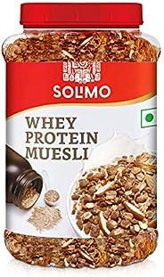 Amazon brand - Solimo Whey Protein Muesli, 1kg