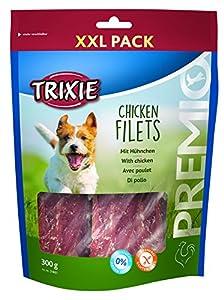 TRIXIE Premio Chicken Filets Friandise pour Chien Pack de 300 g Taille XXL