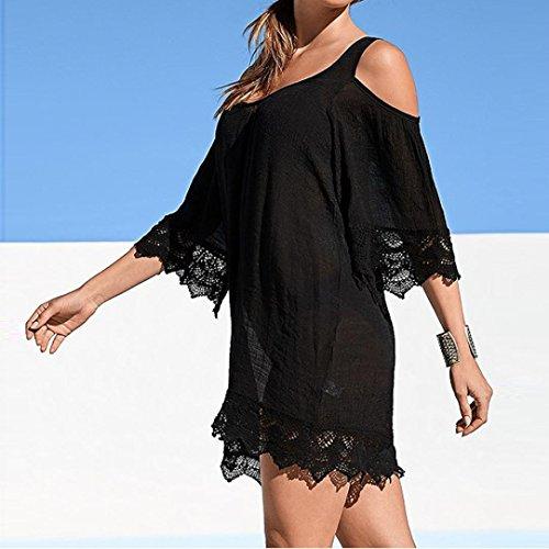 9e4a3a4bac beautyjourney Copricostume Mare Donna Lungo Estate Vestiti Vestito ...