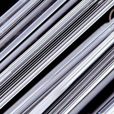 MingXinJia Moderne Kronleuchter Deckenleuchten Anhänger Contemporary 3 Light Anhänger Glasstangen 3C Ce FCC Rohs für Wohnzimmer Schlafzimmer, 220-240 v -
