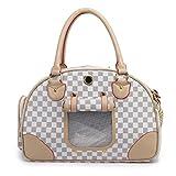 YiHao, bolsa de transporte de mascotas, perros y gatos mochila, mochila mascota, tejido de malla transpirable ligero, moda, 3958-L