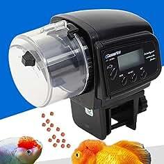 DiLiBee - Alimentador automático de Peces, Pantalla LCD automática, para Acuario o Acuario