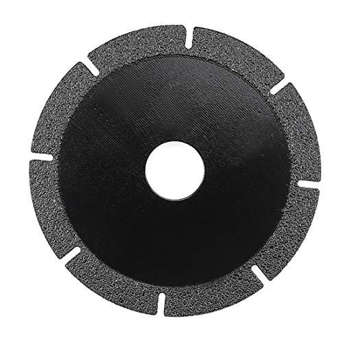 uxcell Diamanttrennscheiben Schleifscheiben für Stein Keramik Glas, a19030700ux0570, schwarz, Type B - 100 * 20mm (Glas Keramik, Schwarze)