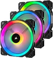 Corsair Co-9050072-Ww Ll120 Rgb 120 Mm Çift Rgb Renk Döngülü Pwm Fan Lighting Node Pro Kontrolcu İle Birlikte