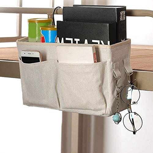 Organizador de cabecera, bolsa de organizador de almacenaje colgante de cabecera para...