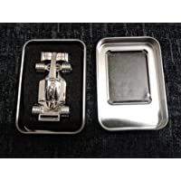 4GB Stainless Steel Formula 1 F1 Car Memory Stick USB 2.0 Flash Drive. Presented In A Magnetic Gift Box.