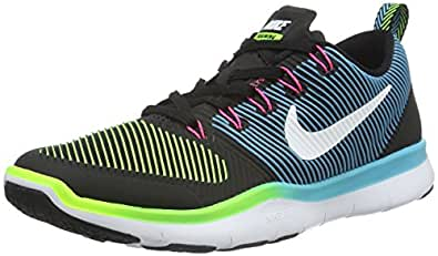 b045d082d0214 Nike Men s Free Train Versatility Black and White Running Shoes - 8  UK India (