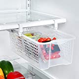 Oliza Plastic FRIDGEMATE Pull Out Drawer and Home Organizer Snap On Drawer to