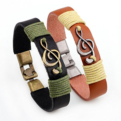 unisex-vintage-musical-note-leather-bracelet-pulsera-pulsera