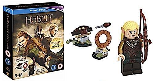 Der Hobbit Smaugs Einöde Blu Ray UV Kopie Exklusiv Mit Legolas Lego Set (Hobbit-film-dvd Lego)
