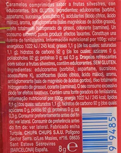 Smint Caramelo Comprimido sin Azúcar Smint Tabs con Sabor a Frutas Silvestres - 12 unidades de 8 gr/ud