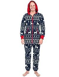 QUICKLYLY 2pcs Peleles Navidad Pijamas Familia Bebé Niño Niña Mujeres Hombres Invierno ...