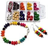 #8: Beadsnfashion Bracelet Earring Jewellery Making Kids DIY Kit, Art and Crafts Jewelry Making Kit…