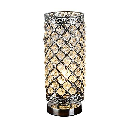 Luz de mesa moderna Cristal LED Lámparas de mesa Belleza Eyeshield ...