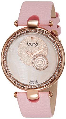 51tL2FU1eOL - Burgi Mother Of Pearl Women BU42PK watch