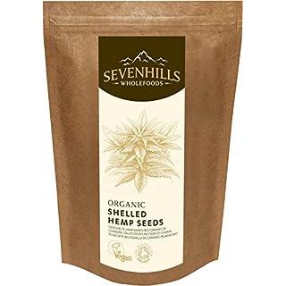 Sevenhills Wholefoods Organic Raw Shelled Hemp Seeds, European 1kg