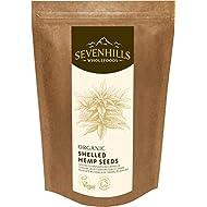 Sevenhills Wholefoods Organic Raw Shelled Hemp Seeds 500g