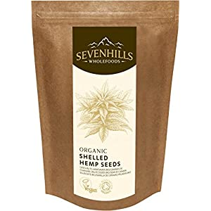 Sevenhills Wholefoods Organic Raw Shelled Hemp Seeds, European 300g