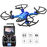 Potensic® Fonction Stepless-speed RC drone F181DH 5.8GHz 4CH 6-Axis Gyro...