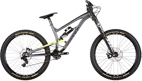 VOTEC VD ELITE - MTB DOBLE SUSPENSION - GRIS/AMARILLO ACIDO TAMAñO DEL CUADRO M / 41CM 2017