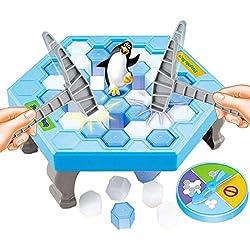 TurnRaise Grifo el Cubo de Hielo, Ahorre el Pingüino, Juegos de Tabla, Juego de la Familia, Juego de los Niños