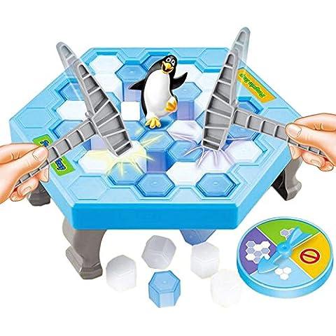 Frapper le pingouin Jouets de glace Ordinateur de bureau pour enfants Jouets puzzle interactif amusant