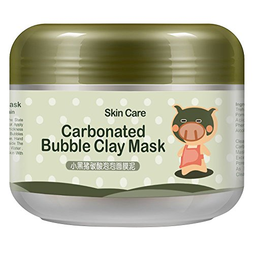 KAYI Moisturizing Gentle Pore Minimizing Deep Cleansing Carbonated Rich Oxygen Bubble Clay Mask