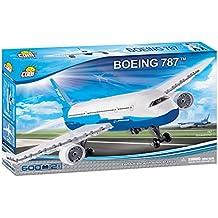 Cobi - Boeing 787, avión de pasajeros, color blanco ...