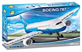 COBI 600 PCS Boeing/ 26600/787 Dreamliner Costruzioni Piccole Gioco Bambino 370, Colore Bianco, 26600