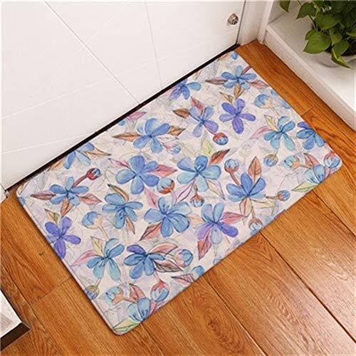 FENGLINZEKANG Outdoor Haustürmatten Anti-Rutsch-Druck Bodenteppiche (Color : 9, Größe : 40x60cm)
