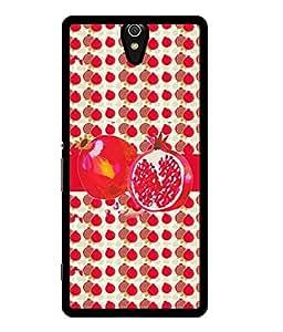 Fuson 2D Printed Fruit Designer back case cover for Sony Xperia C5 - D4460