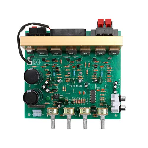 KKmoonDX-2.1 Large Power Audio Amplifier Board Channel High Power Subwoofer Dual Home Theater AC18-24V DIY Supplies (Home Power Subwoofer)