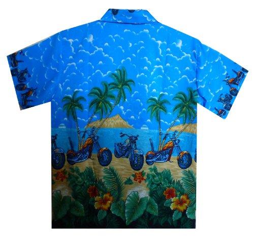 Funky Chemise Hawaienne Bleu