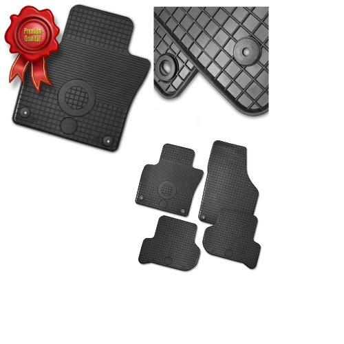 Preisvergleich Produktbild CD 38098 Gummi-Fussmatten Schwarz