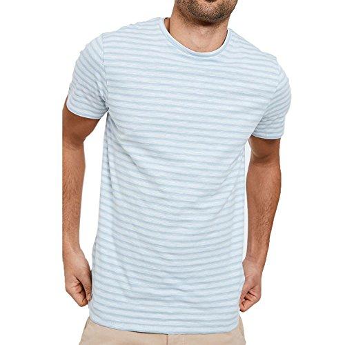 Threadbare Herren T-Shirt * Kornblume (Blau)