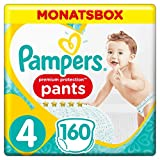 Pampers Premium Protection Pants Größe 4, 160 Windeln, 1 Monatsbox